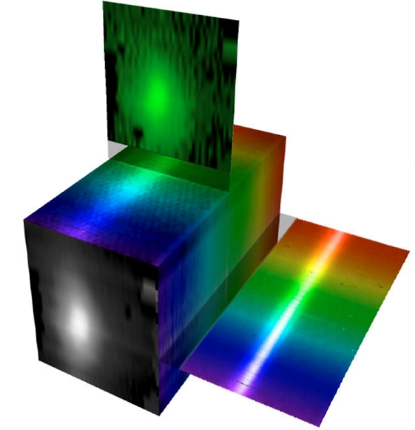 Hyperspectral Cube Visualization